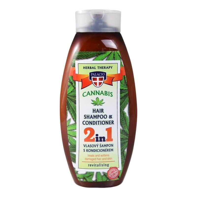 Konopný šampon s kondicionérem 2v1 500ml