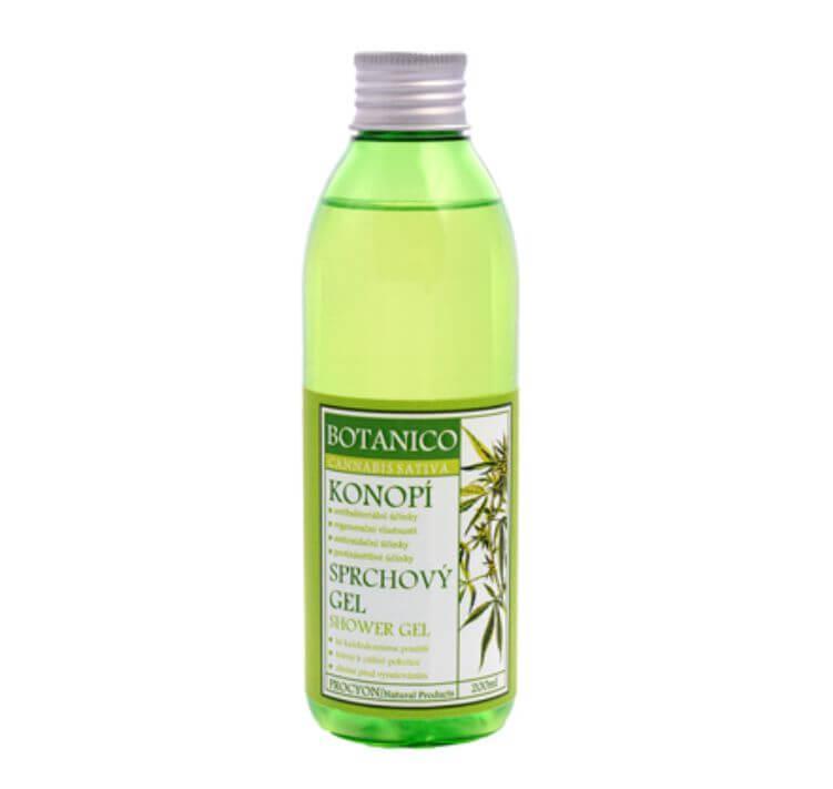 Konopný sprchový krém gel 200 ml