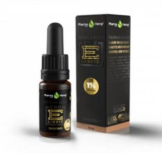 Premium Black CBD liquid 1 % 10 ml Tiramisu