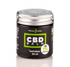 CBD balzám 1% 30 ml