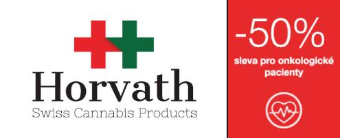 Logo Horvath Swiss Cannabis + sleva 50 %
