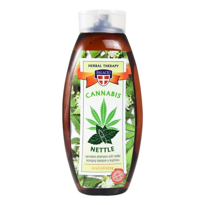 Konopný šampon s kopřivou 500 ml